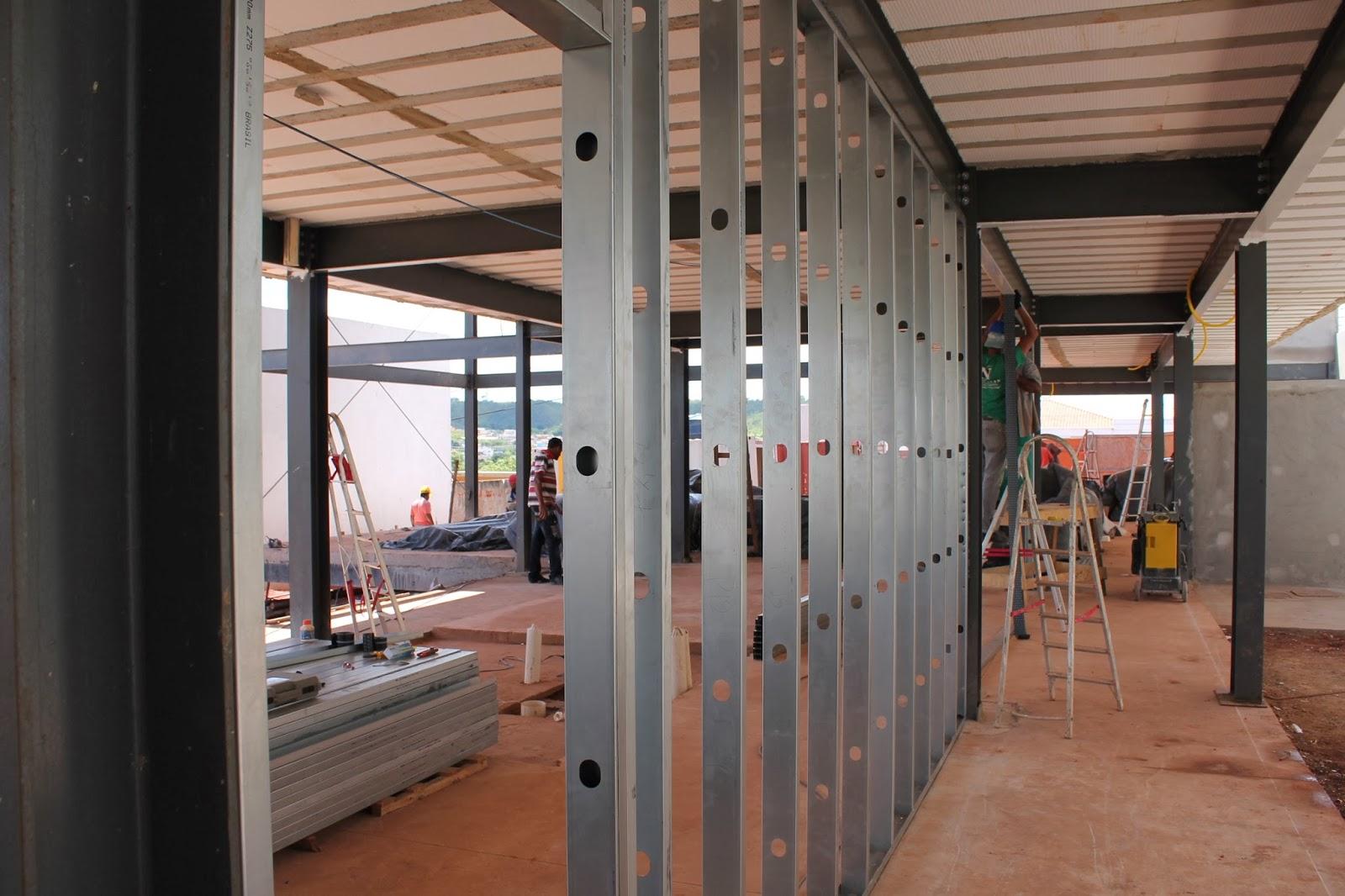 SISTEMA STEEL FRAME – Método de construção seca que garante resistência e rapidez nas obras.
